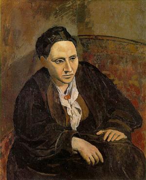Пабло Пикассо - Портрет Гертруды Стайн (1906) Фото: Estate of Pablo Picasso / ARS, NY
