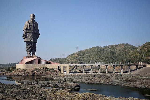 Памятник Сардару Валабхаи Пателю, Фото: Amit Dave / Reuters