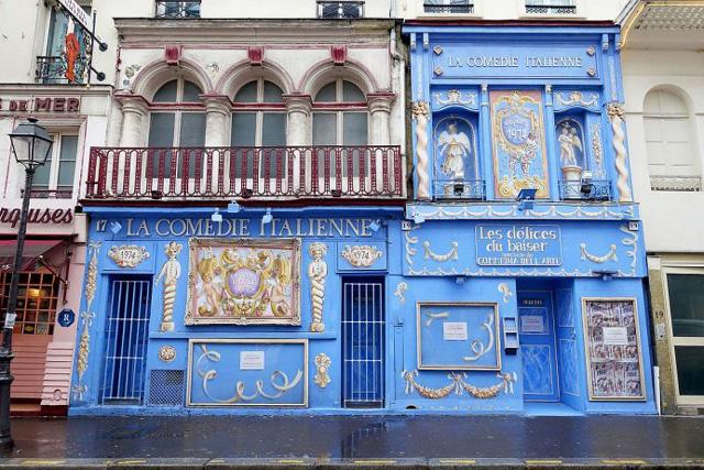 Парижский театр «La Comédie-Italienne»