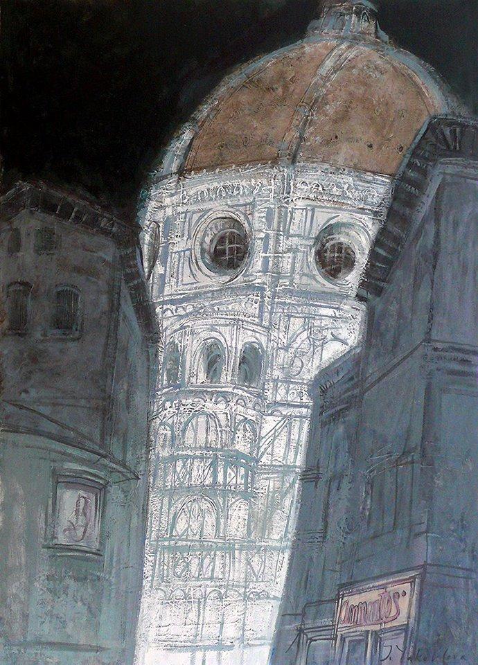 графика Жанны Яковлевой (Москва)