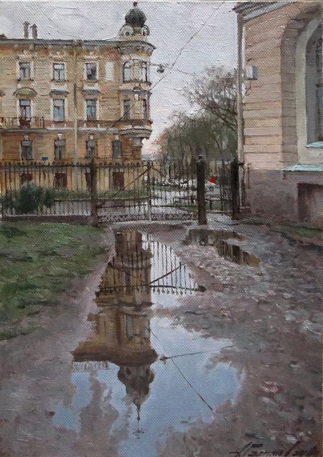 пейзаж А. Х. Галимова