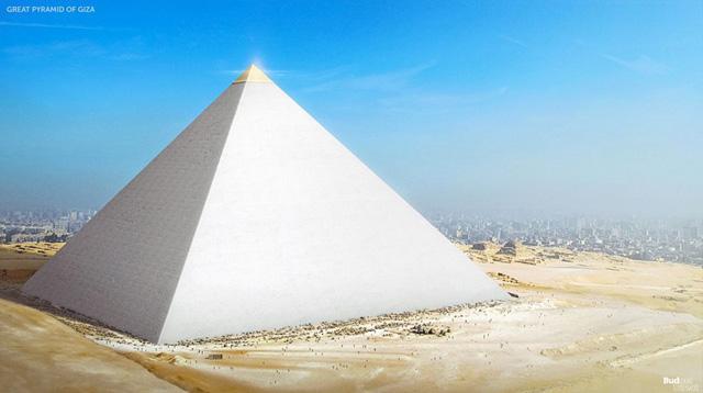 Пирамида в Гизе (реконструкция)