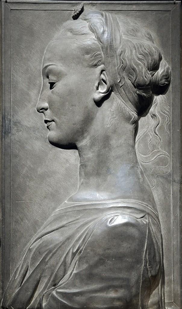 Портрет молодой женщины, неизвестный скульптор из мастерской Дезидерио да Сеттиньяно, фото Getty Images