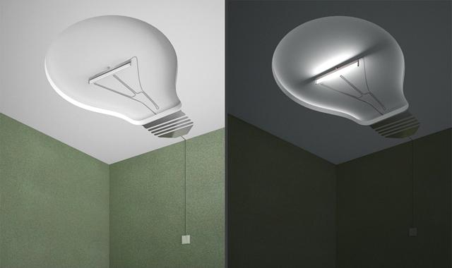 Потолок от дизайнера Дмитрия Куляева (Нижнекамск)
