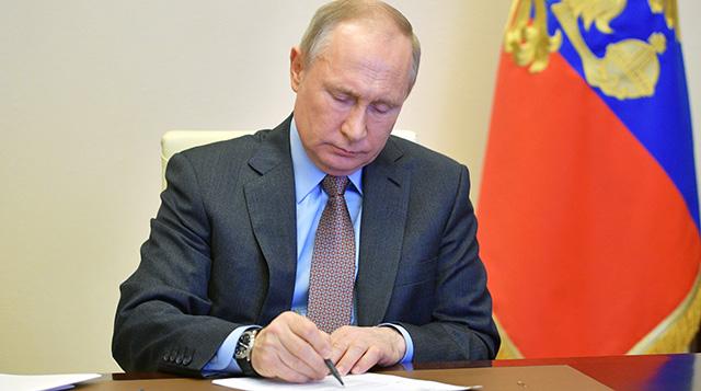 Президент РФ В.Путин. Фото: Алексей Дружинин/РИА «Новости»