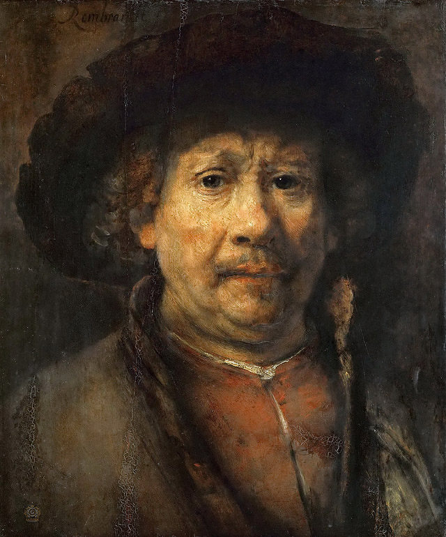 Рембрандт Харменс ван Рейн_Малый автопортрет