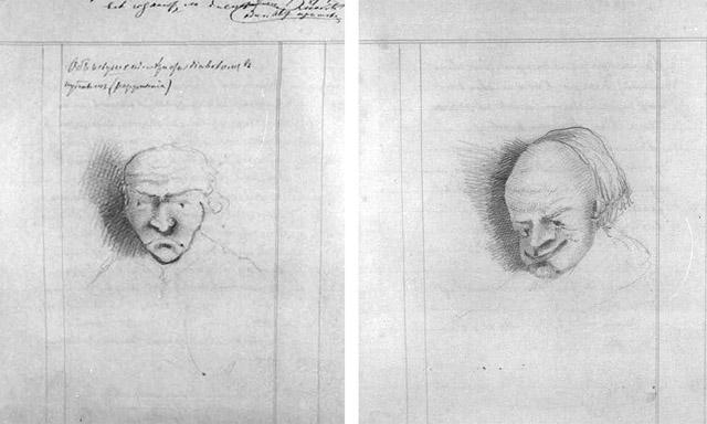 Лев Мышкин, рисунки Достоевского