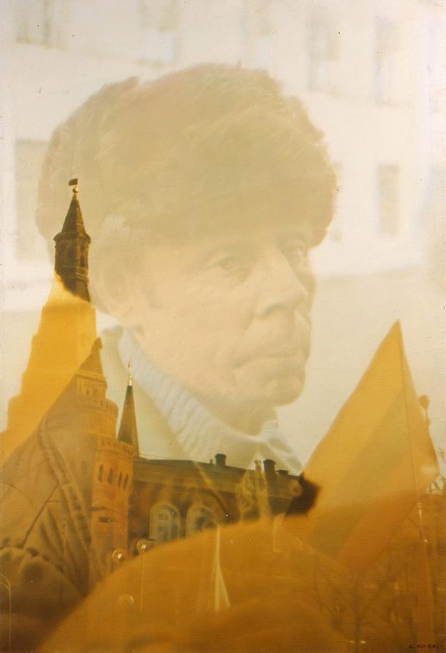 """Художник Семен Файбисович """"Россиянин"""" (1991). Фото: Государственная Третьяковская галерея"""