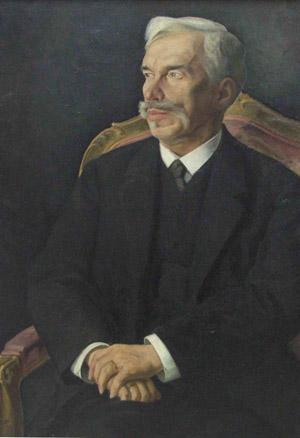 Сергей Иванович Щукин. Портрет работы Дмитрия Мельникова (1915)