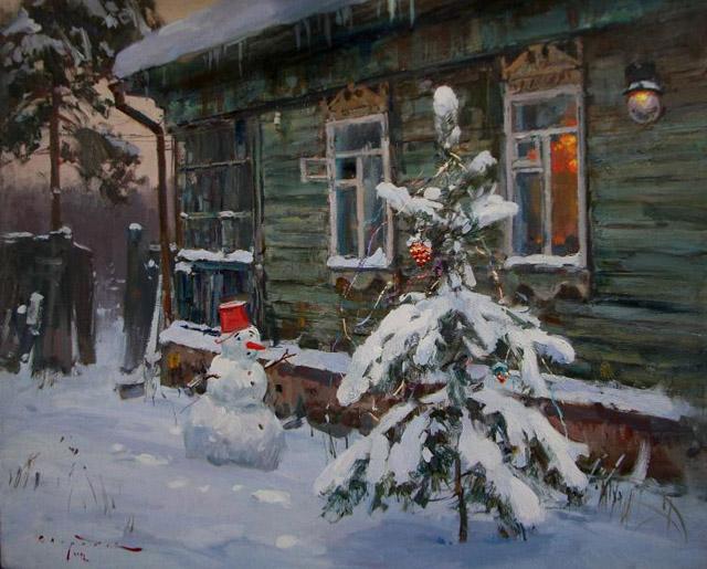 современная русская живопись