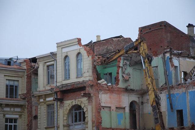 Снос исторического здания, фото: Андрей Новичков