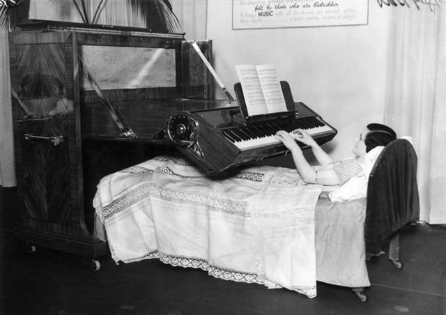 Специальное пианино, Великобритания 1935 год, фото - spaarnestadphoto.nl, Nationaal Archief