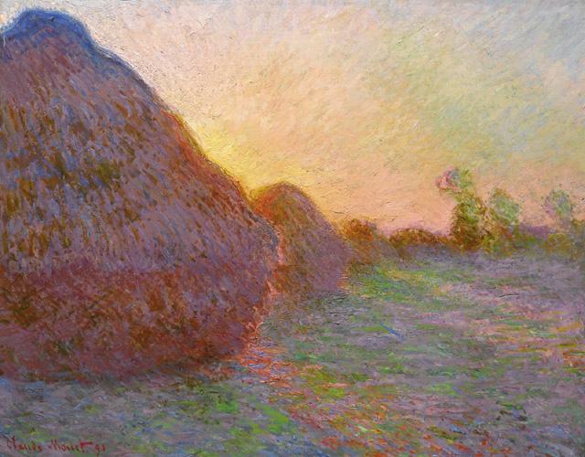 """Сlaude Monet's """"Meules"""" (1890)"""