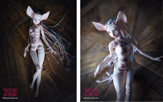 кукла художницы Татьяны Трифоновой (Москва)