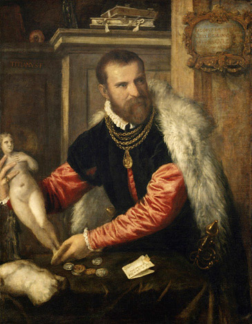 Тициан «Портрет антиквара Якопо Страда»
