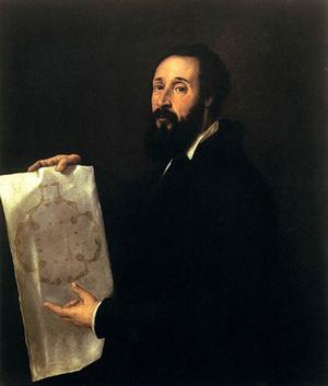 Тициан - Портрет Джулио Романо