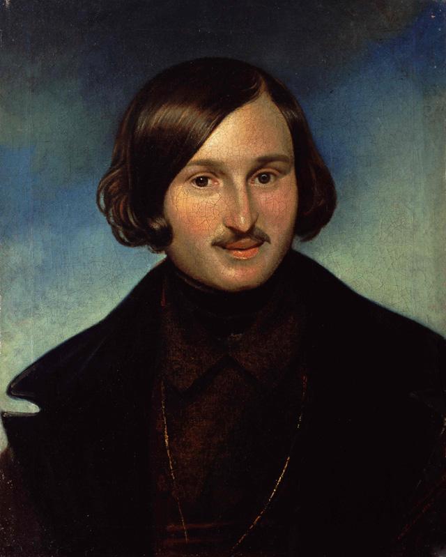Федор Антонович Моллер (1812-1874) - «Портрет Николая Васильевича Гоголя» (1848)