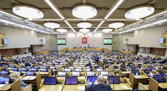 Пленарное заседание Государственной Думы РФ, фото: © Пресс-служба Госдумы РФ / ТАСС