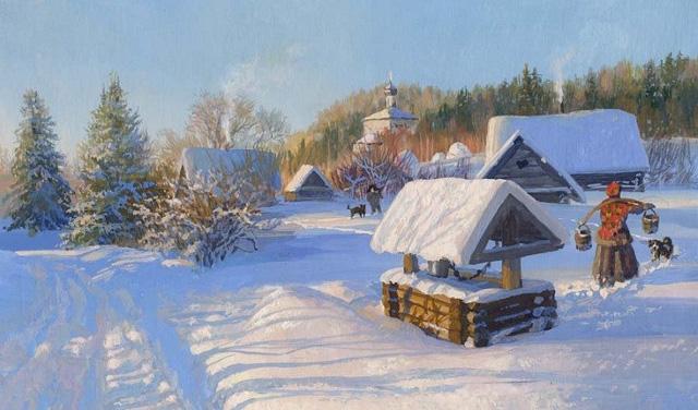 Картина художника Владимира Жданова (Россия)