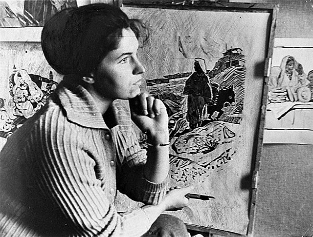 Художник Ирина Воробьева (1963), фото: artlib.ru