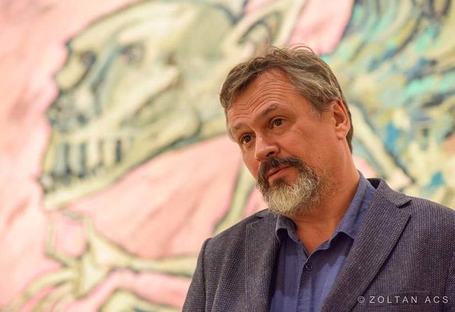 Художник и писатель Максим Кантор, фото: Zoltan Acs