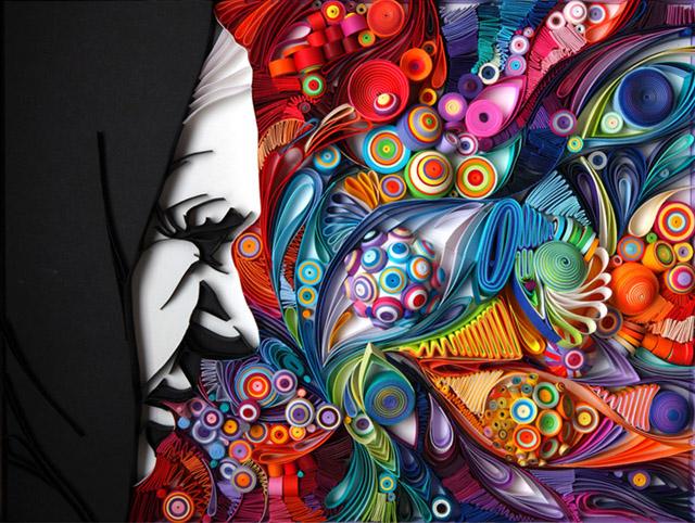 Старушка в платке, дизайн Юлии Бродской