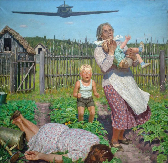 Юрий Петрович Кугач_Сироты. (22 июня 1941 г.), 1975
