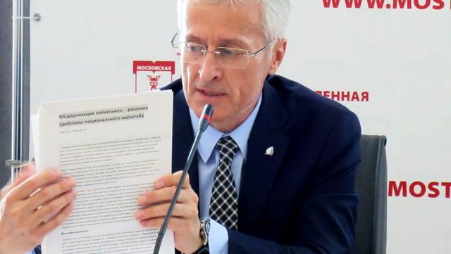 Эксперт по жилищной политике Юрий Эхин, фото: www.newizv.ru