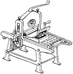 литографский станок