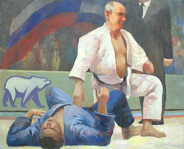 Путин-дзюдоист