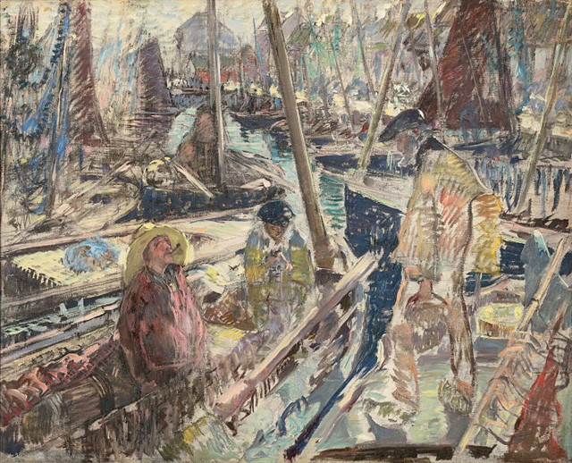 01-Константин Кузнецов_Бретонские рыбаки. Конкарно. 1900-1902