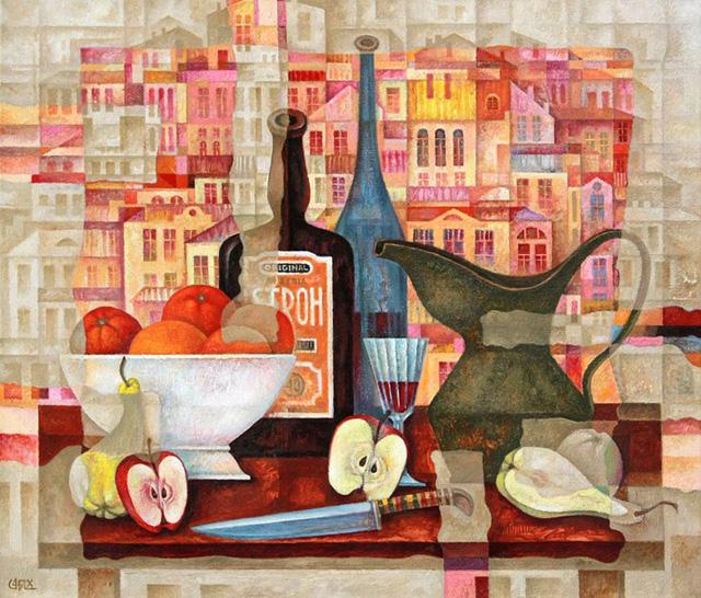 01-Сергей Чесноков-Ладыженский_Вино и фрукты 2010