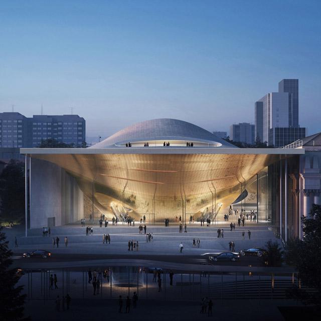 Проект комплекса Свердловской филармонии от Zaha Hadid Architects