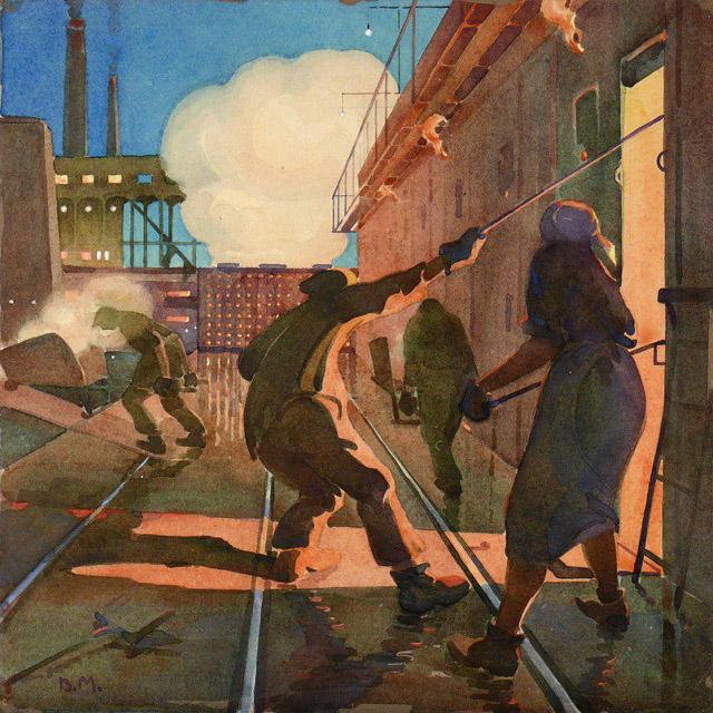 02_Мизеров Вадим Матвеевич (1889-1954)_На заводе. Кемерово (1927)