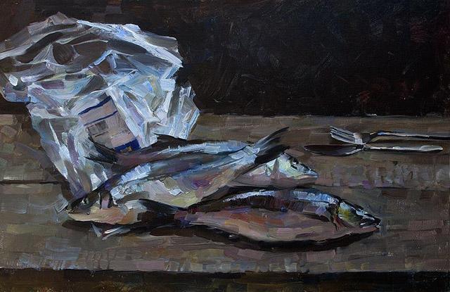 04-Евгений Яцута - Три рыбы и пакет (2015)