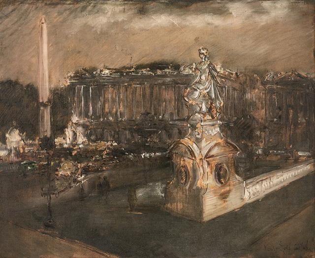 04-Константин Кузнецов_Площадь Согласия в Париже, 1920-е