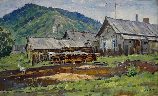 04-Юрий Боско_Дождь. Бахилова поляна