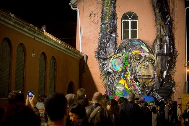 Bordalo II - выставка в Лиссабоне