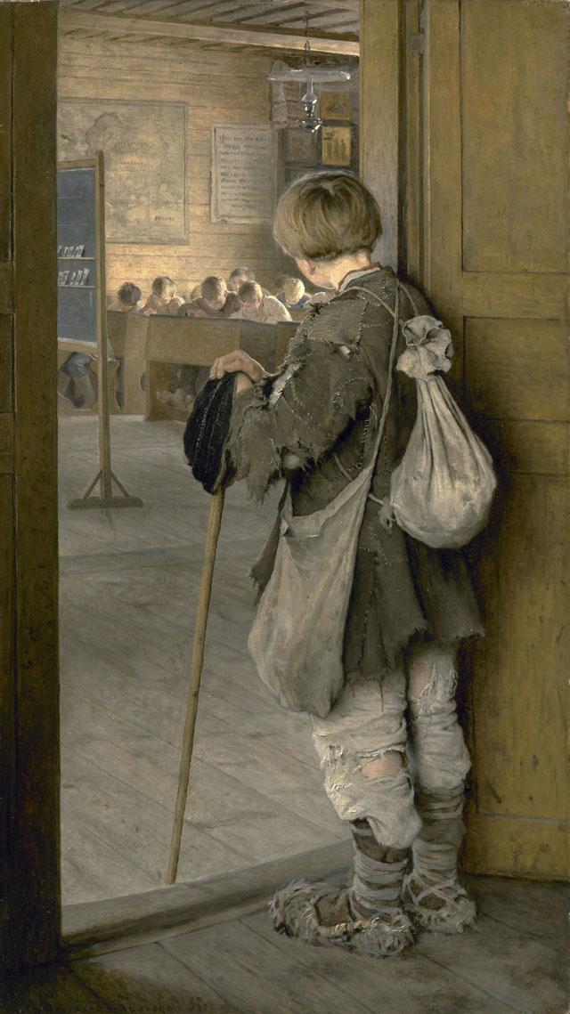 Н.П. Богданов-Бельский_У-дверей-школы.1897.jpg