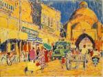 06-Станислав Никиреев - Бухара-3, цветные карандаши, 1966