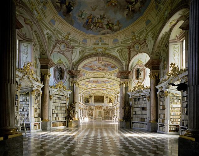 Stiftsbibliothek Admont, Admont, Austria