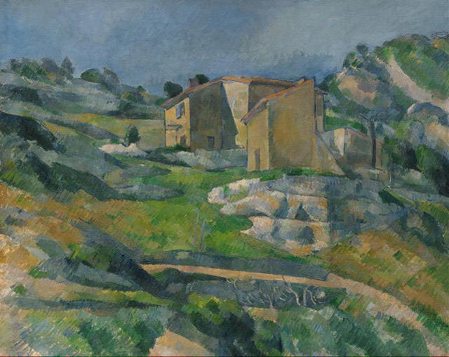 06_Houses in Provence- The Riaux Valley near L'Estaque (c. 1883)