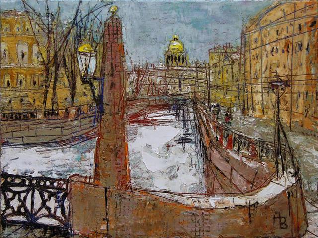 городской пейзаж Александра Волкова
