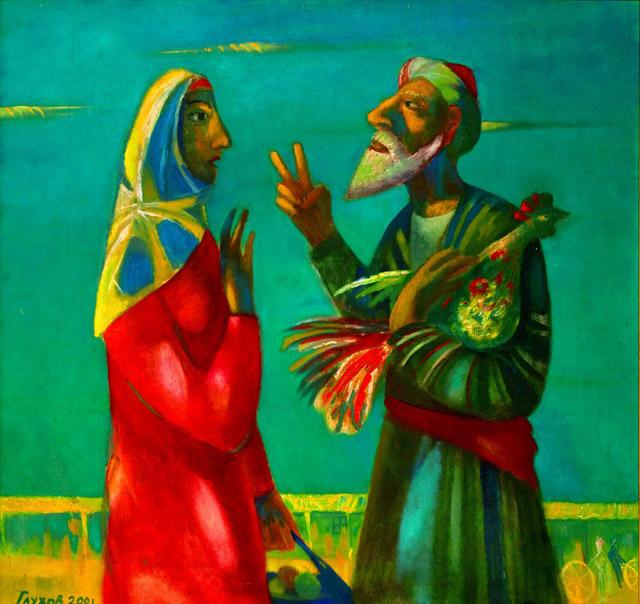 картина Владимира Глухова