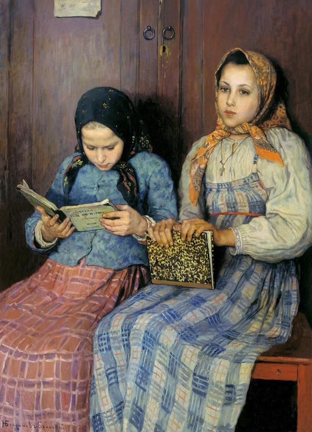 07-Н. П. Богданов-Бельский_Ученицы. 1901