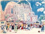 07-Станислав Никиреев - В Самарканде, цветные карандаши, 1968