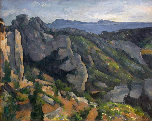 07_Rocks at L'Estaque (c. 1882-85)
