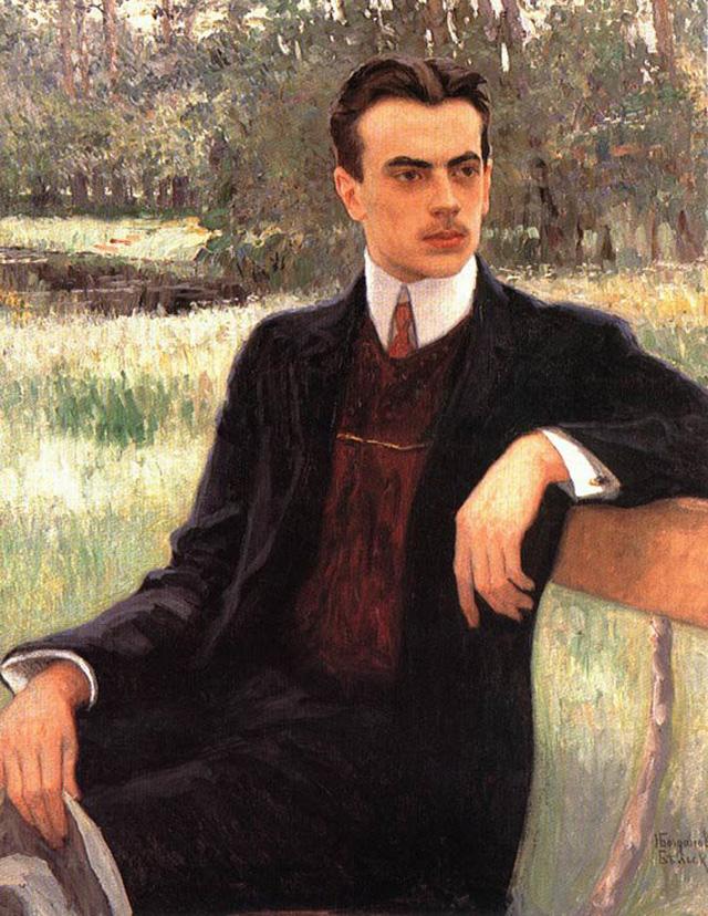 08-Н. П. Богданов-Бельский_Портрет Н. Ф. Юсупова, ок. 1900