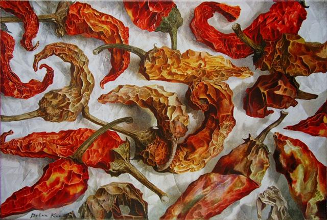 горячие перцы