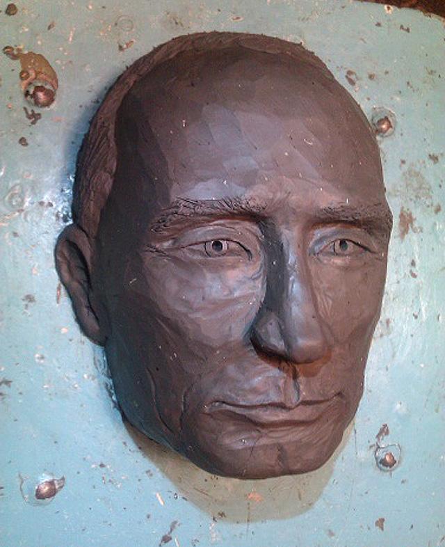 Скульптурный Путин